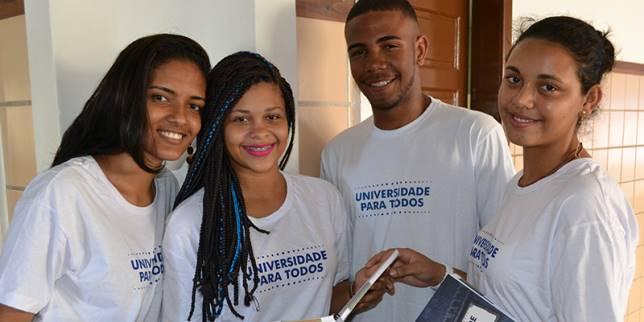 Inscrições para o Programa Universidade para Todos vão até terça-feira