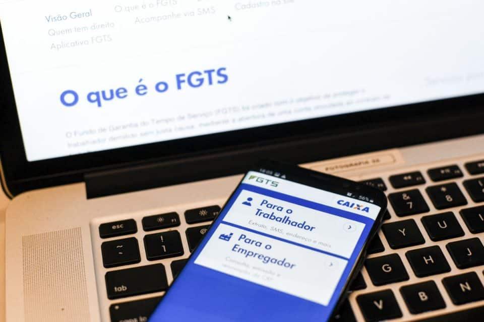 Saiba como fazer a amortização do FGTS pelo celular