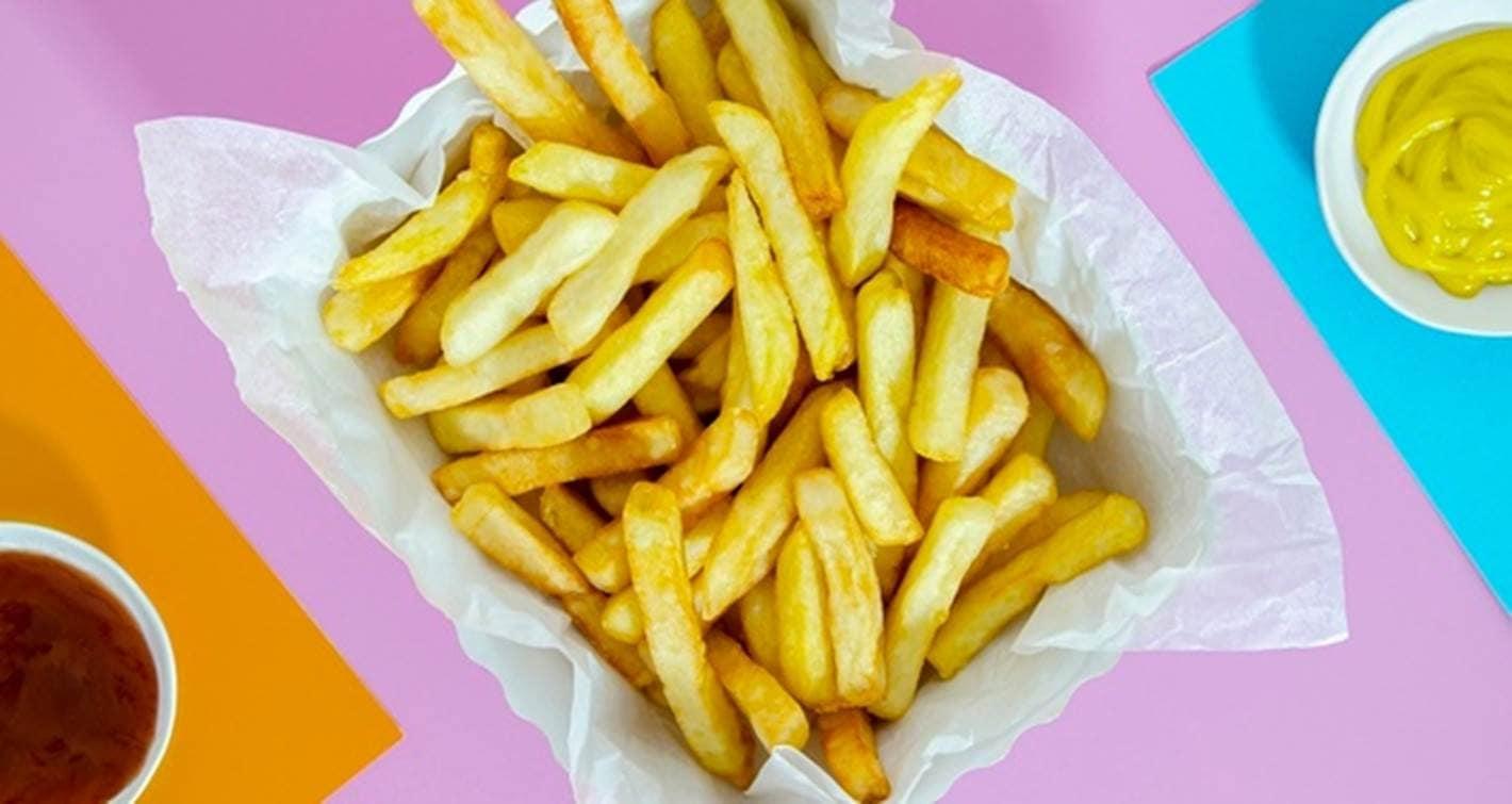 O grande segredo para batatas fritas sem gordura perfeitas