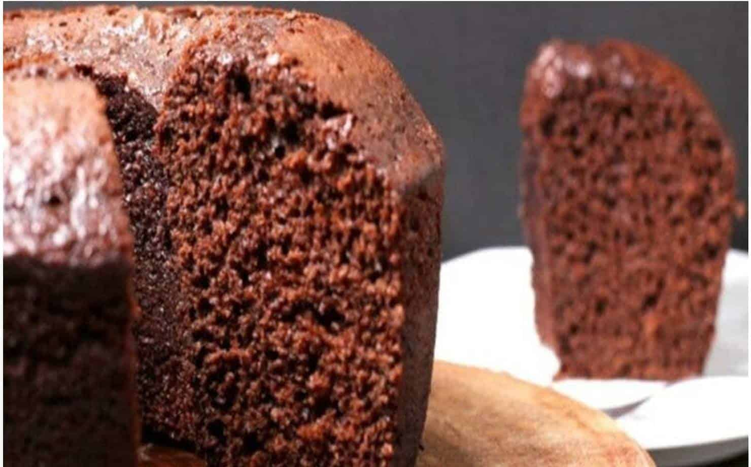 Bolo de Chocolate mais saudável