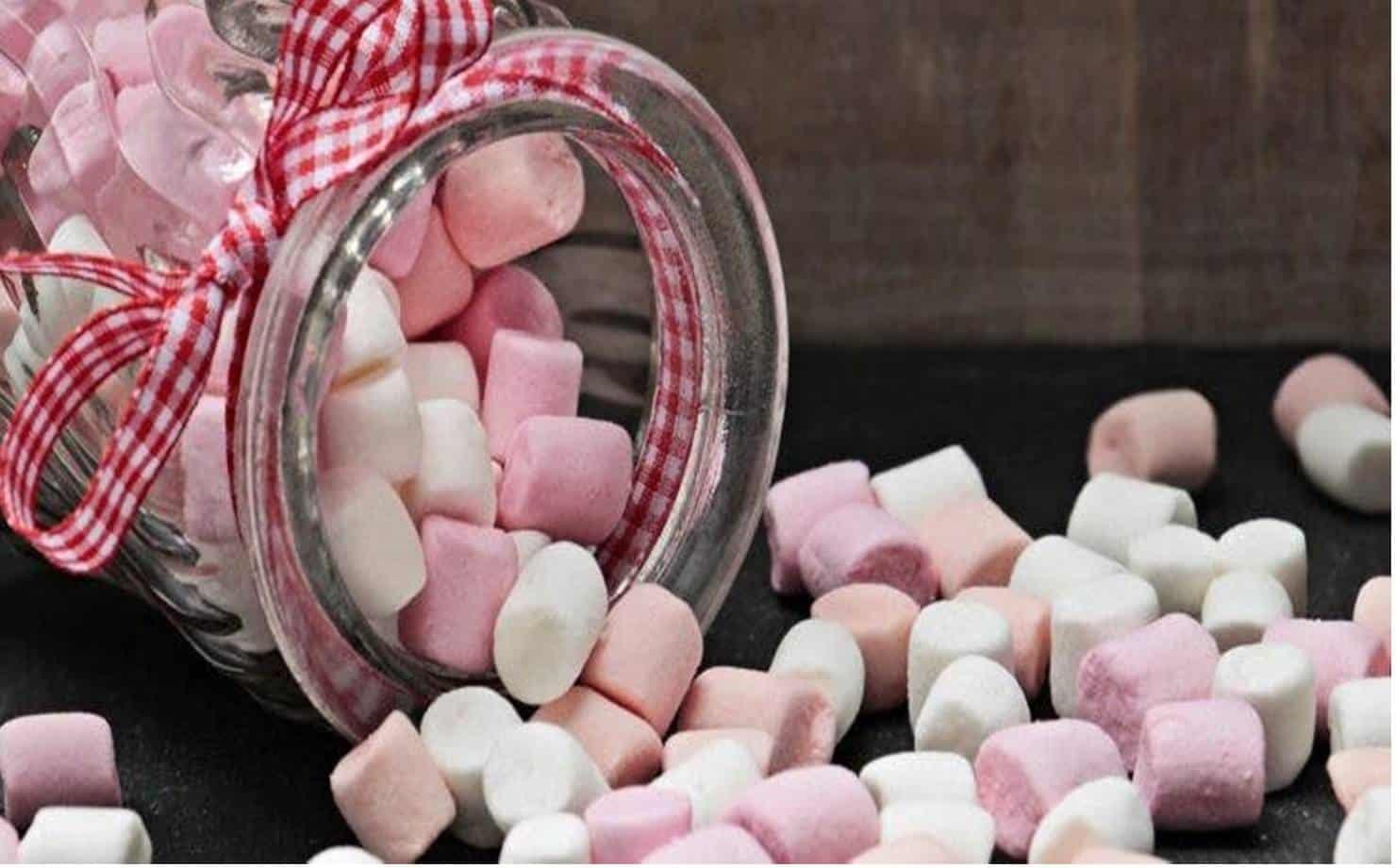 Marshmallow Caseiros Coloridos