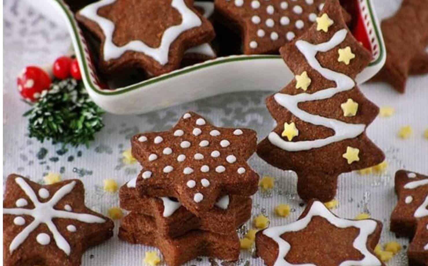 Biscoitos de Natal: uma preparação muito fácil e saborosa