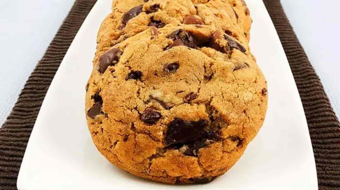 biscoito com gotas de chocolate 1