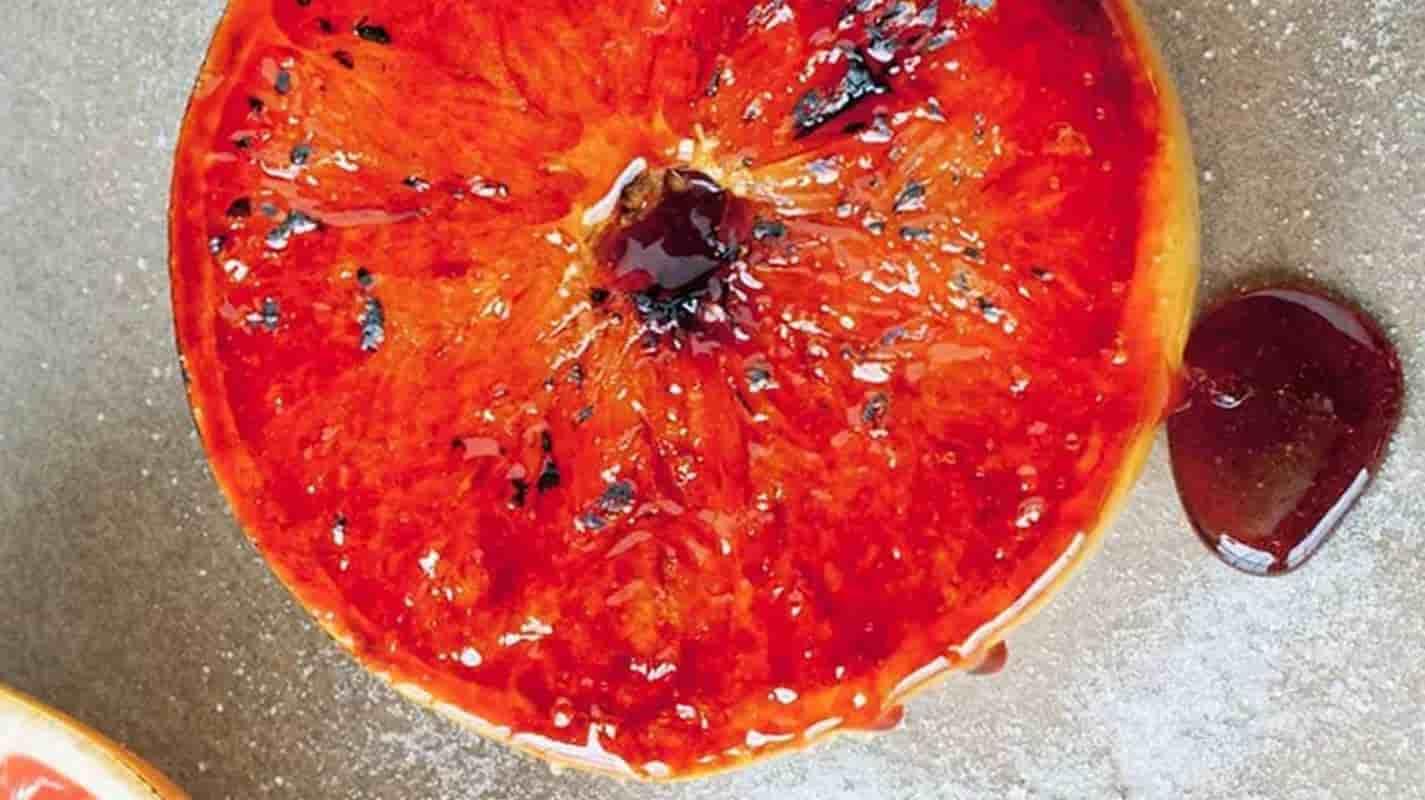 laranja caramelizada