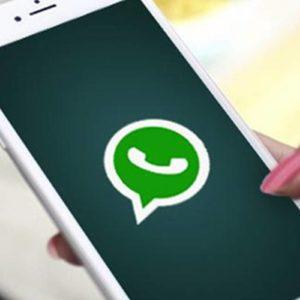 Celular com APP do whatsapp