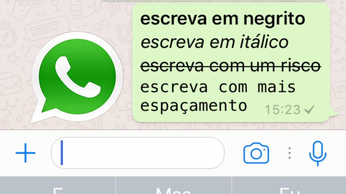 whatsapp fontes