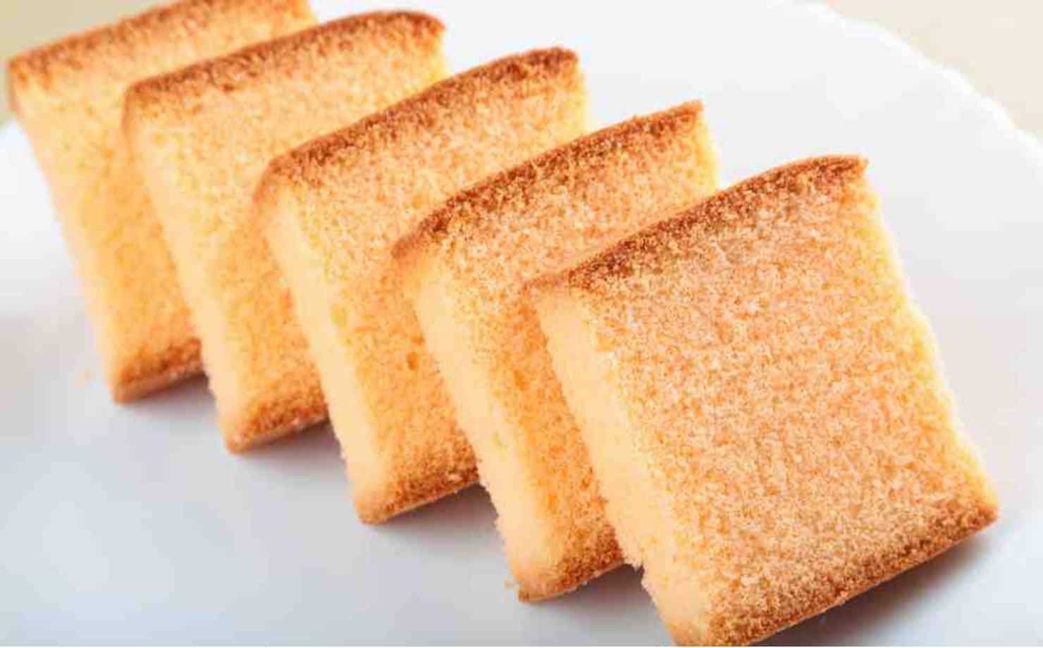 Brownie de Tangerina no prato
