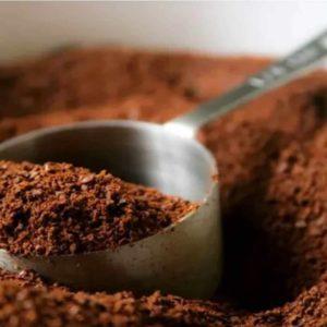 Receita com café para a pele