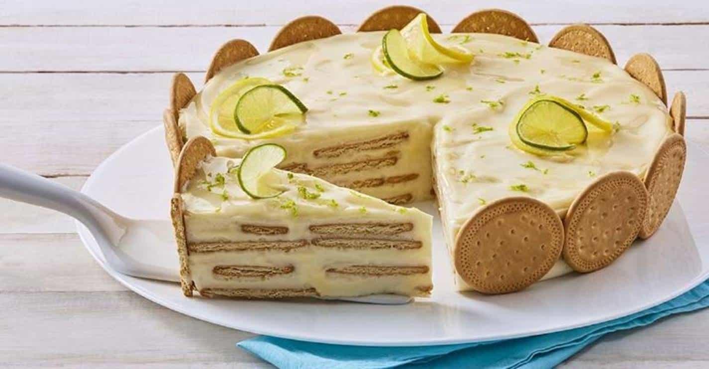 Carlota de limão; uma sobremesa deliciosa com apenas 4 ingredientes