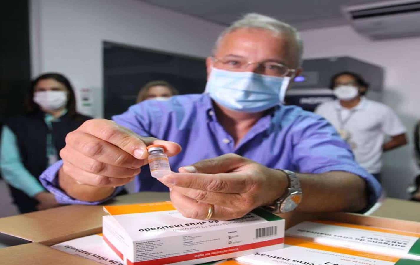 Bahia recebe novo lote com mais de 200 mil doses de vacina contra Covid-19