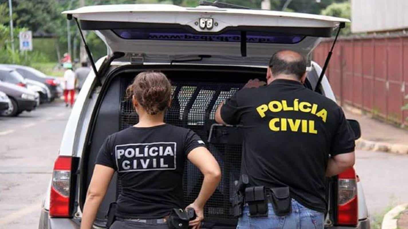 Agentes da Polícia Civil em Serviço