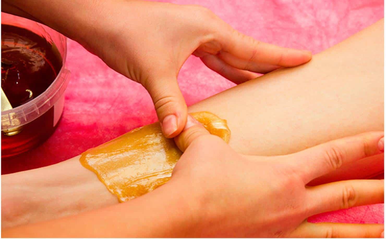 Depilação caseira e natural com açúcar para peles sensíveis