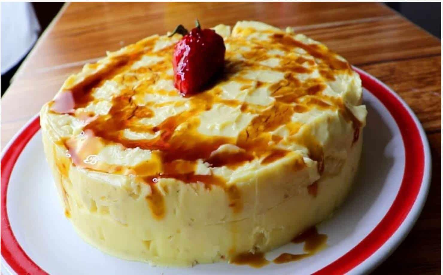 Se você tem leite e amido de milho, prepare esta sobremesa deliciosa
