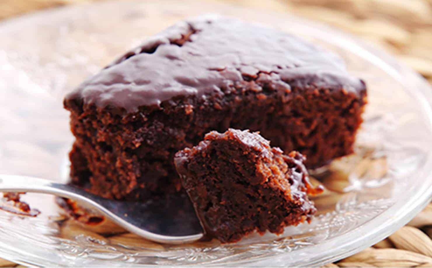 Receita de bolo fit de chocolate feito no liquidificador