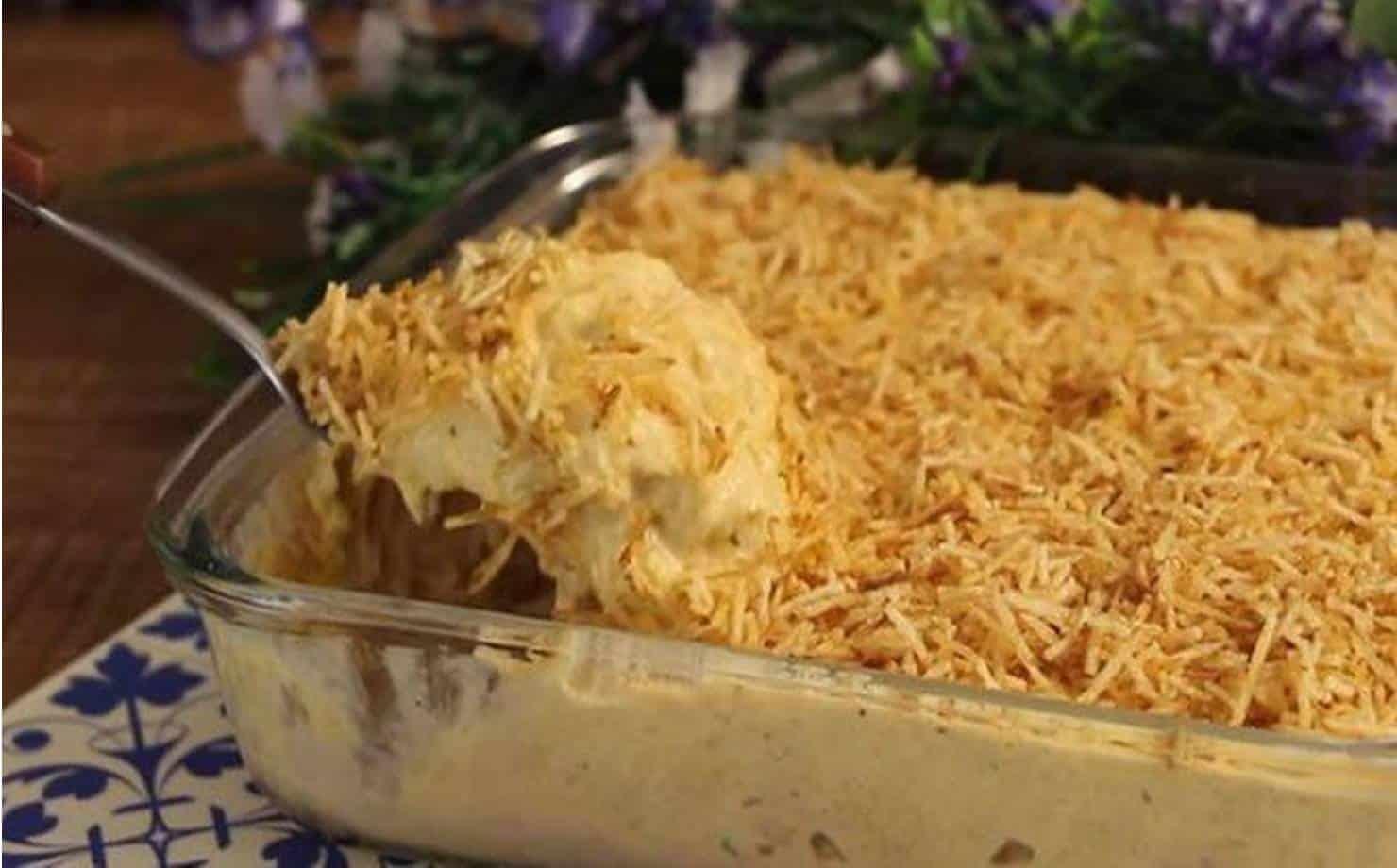 Fricassê de frango: a receita fácil e gostosa para o dia dos namorados