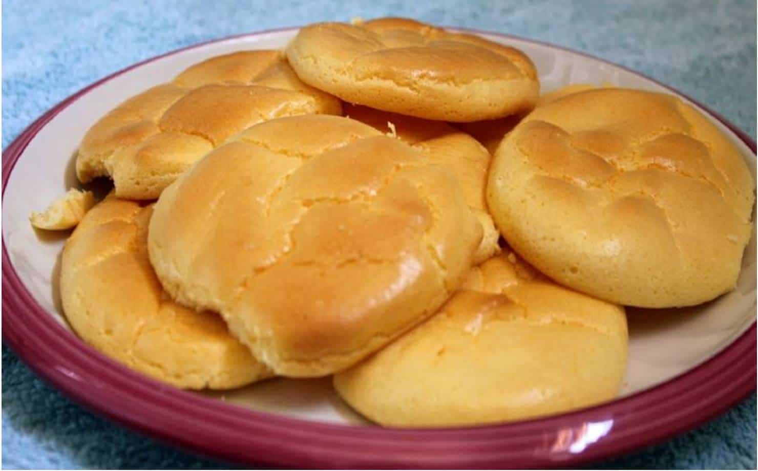 Delicia fit: desfrute de um delicioso pão nuvem com apenas 3 ingredientes