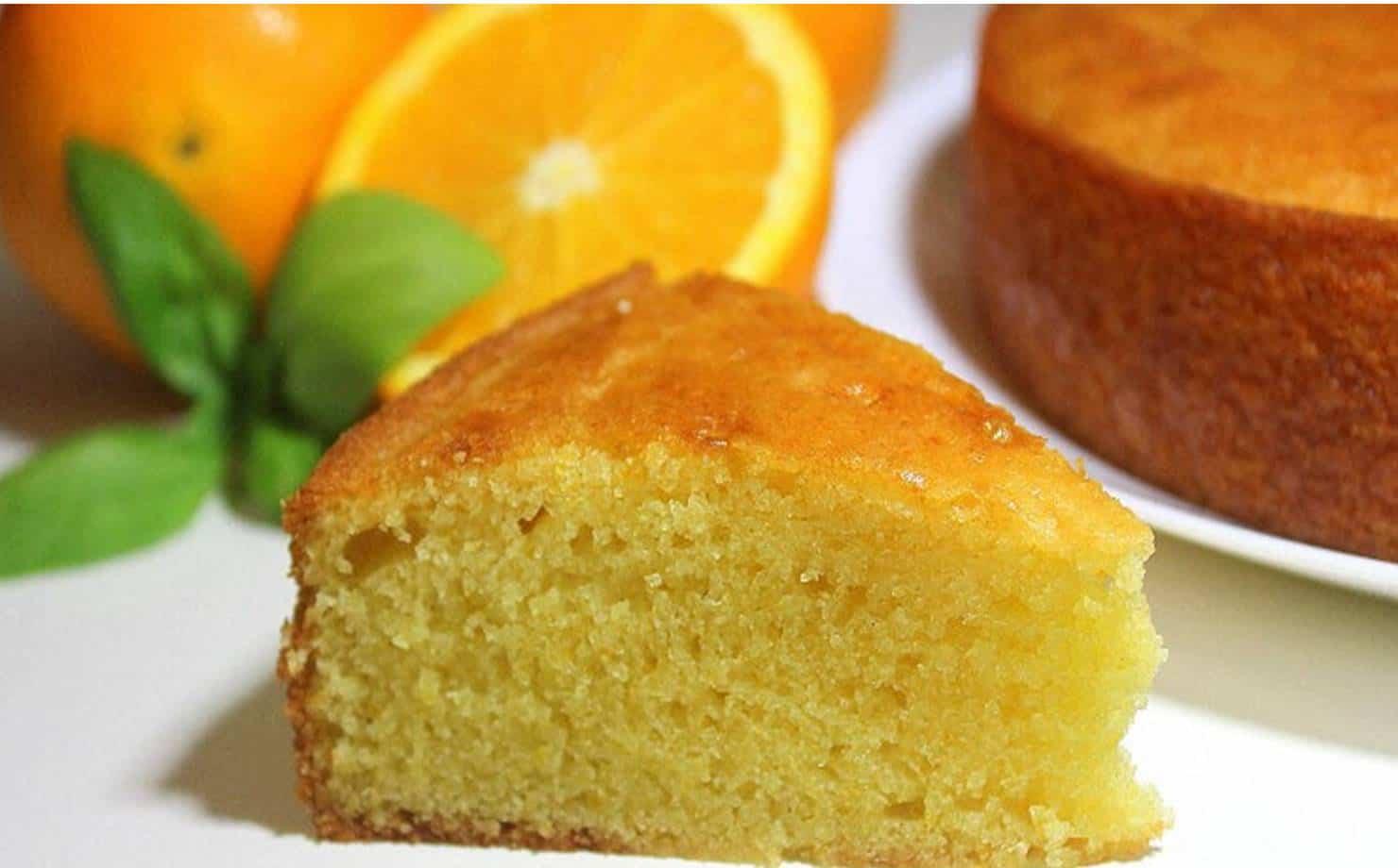Aprenda a preparar um bolo de laranja irresistível sem farinha