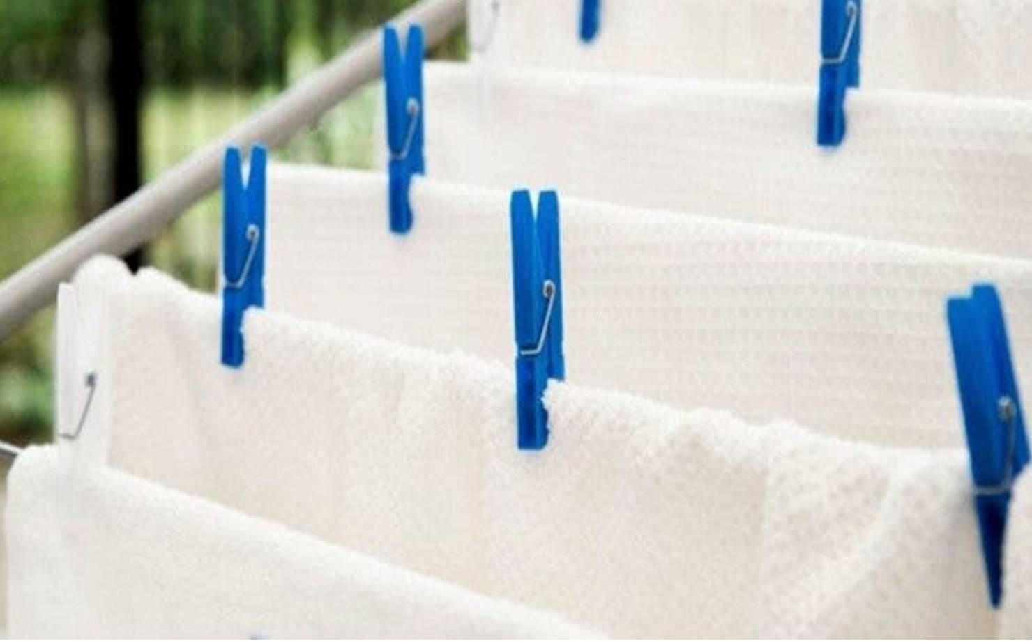 Veja como deixar as toalhas de banho limpas sem usar água sanitária