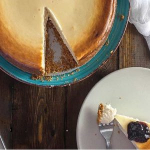 Torta de Ricota na Mesa