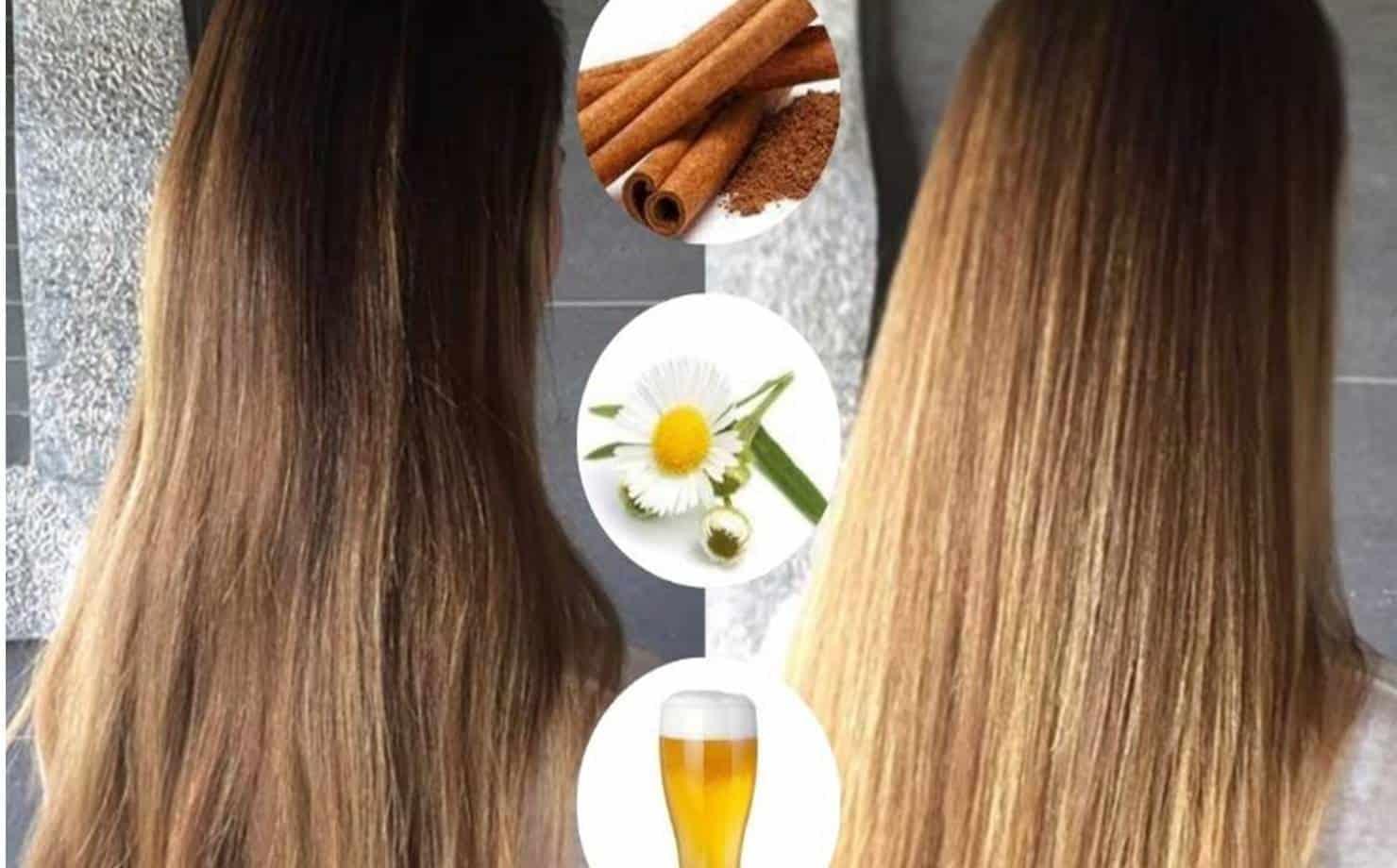 Adeus ao clareamento invasivo: clareie seu cabelo naturalmente em casa
