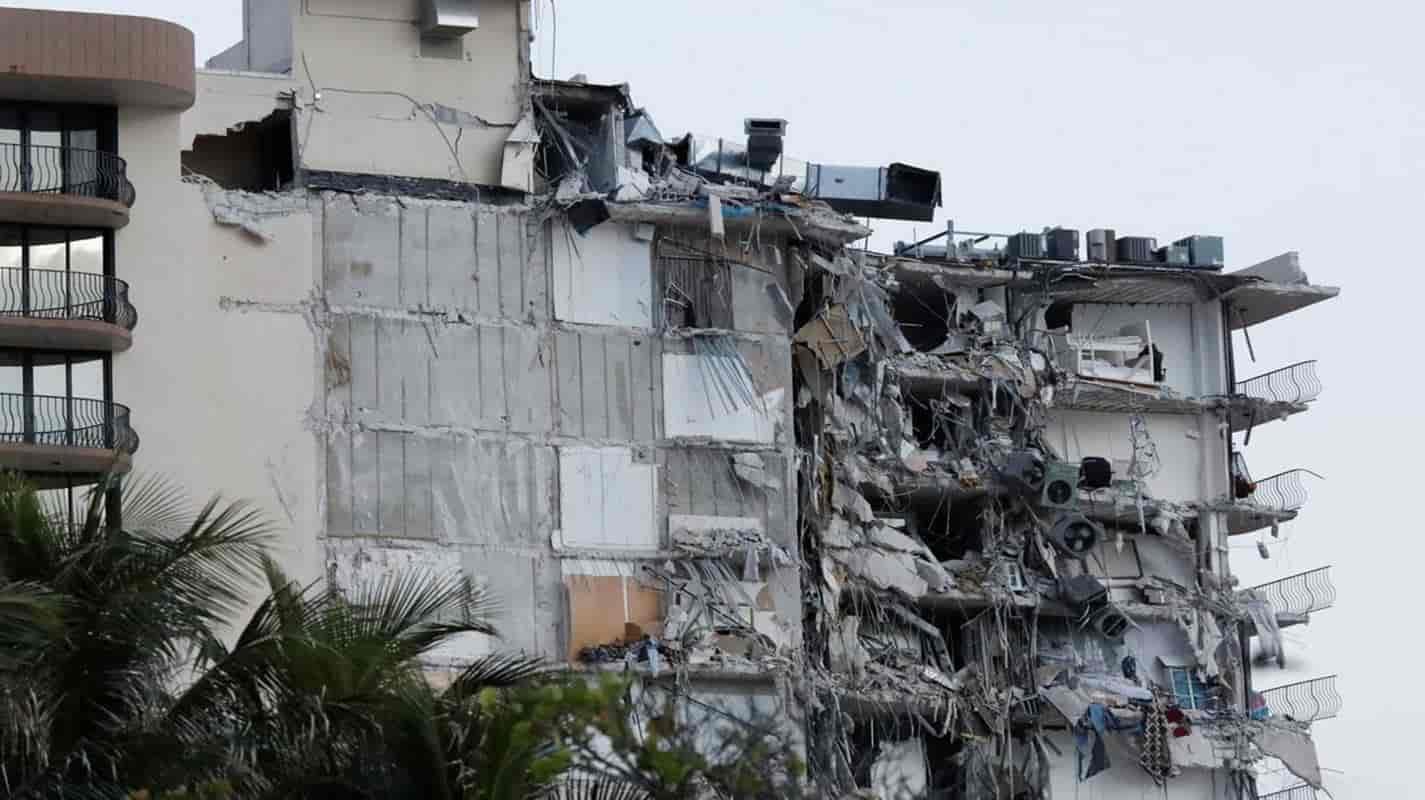Dezenas de pessoas estão desaparecidas após desabamento de prédio na Flórida