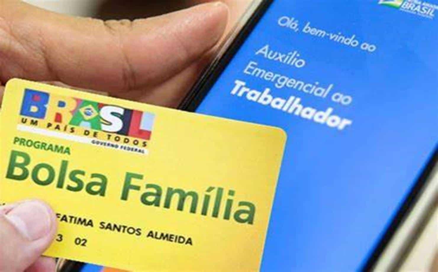 Bolsa Família e Auxílio Emergencial