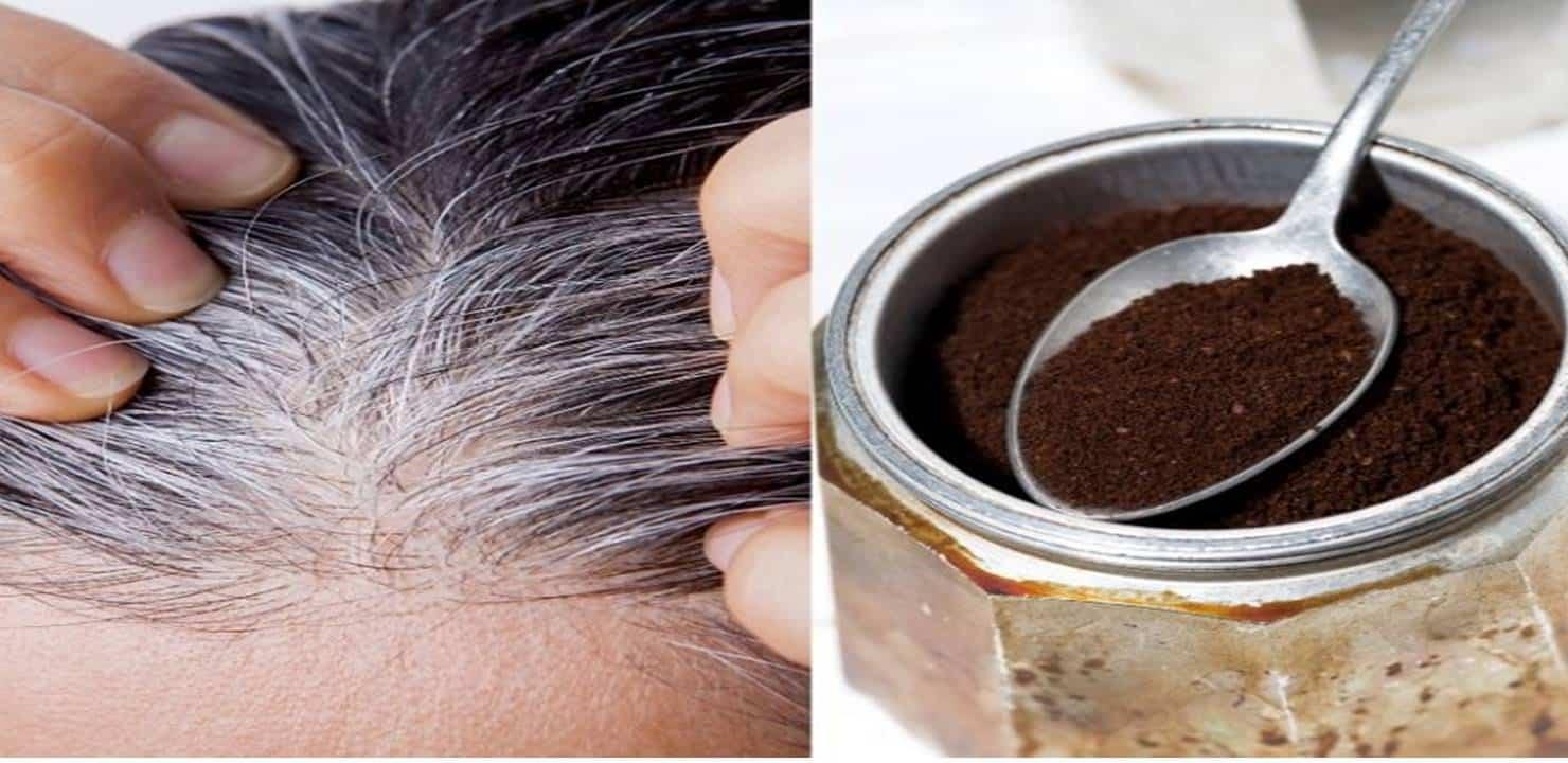 Cabelo Grisalho e Pó de Café