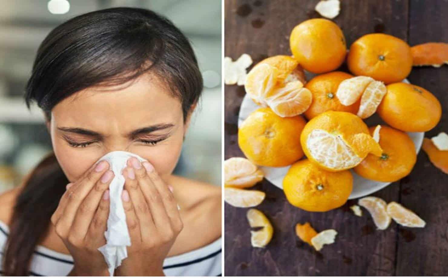 Casca de tangerina e Enfermidades