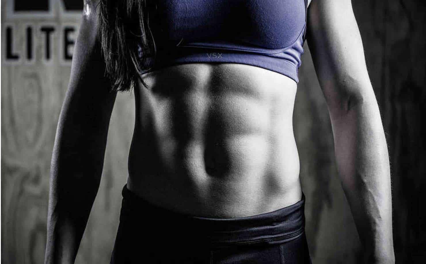 Mulher com Músculos