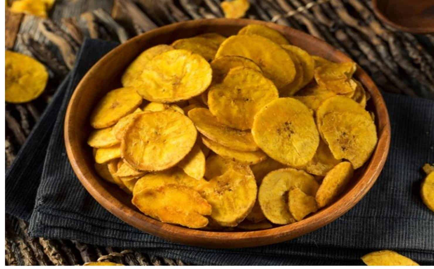 Aprenda como fazer chips de banana na Air Fryer
