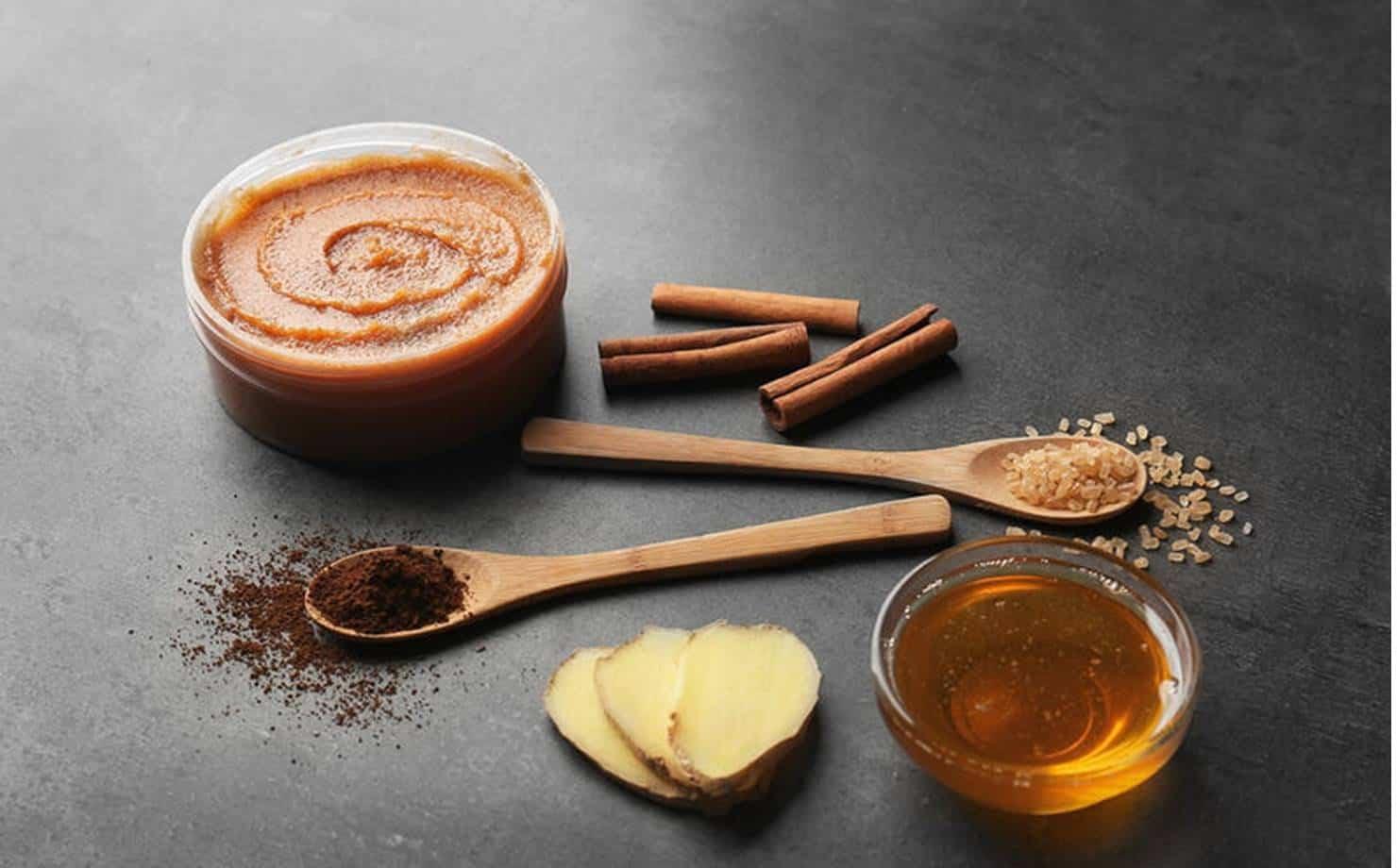 Gel e ingredientes