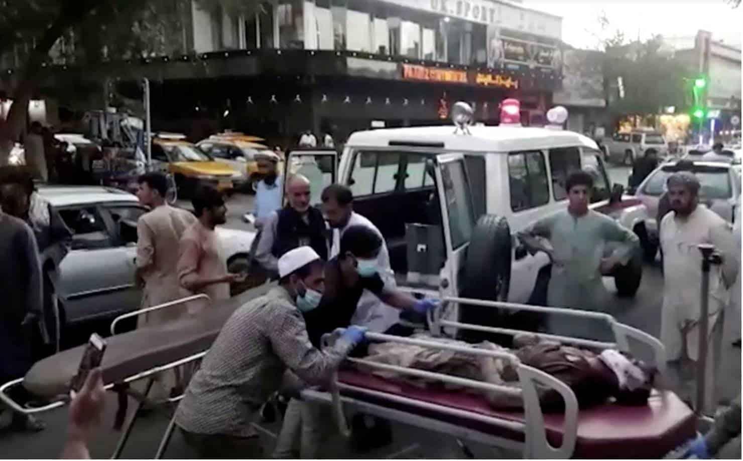 Explosão Afeganistão