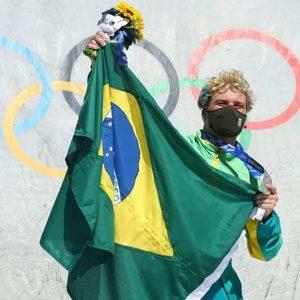 Pedro Barros nas Olimpíadas