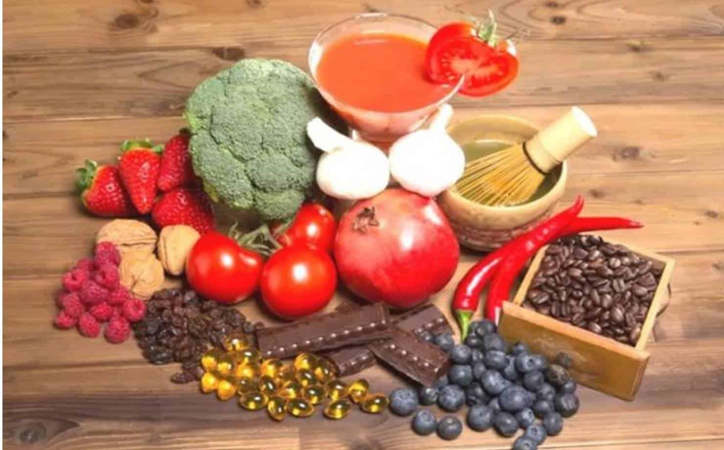 O que são alimentos antioxidantes e quais são seus benefícios para a saúde?