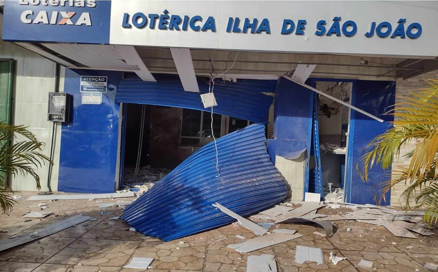 Casa Lotérica Explodida