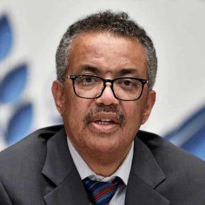 O diretor-geral da OMS