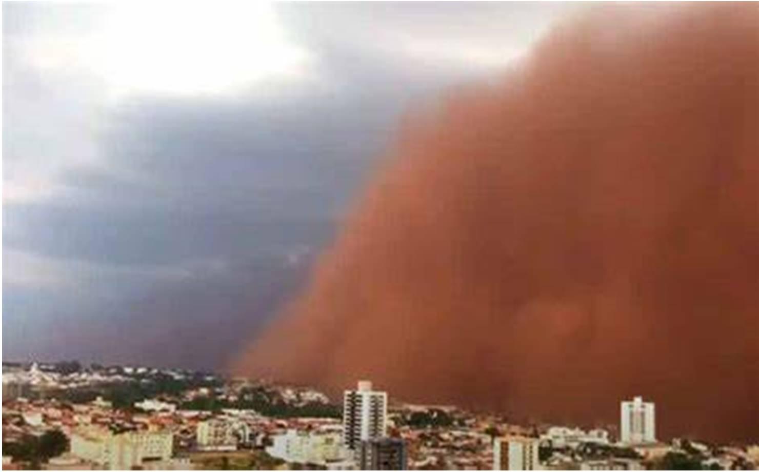 Tempestade de areia atinge cidades do interior de São Paulo; veja vídeo