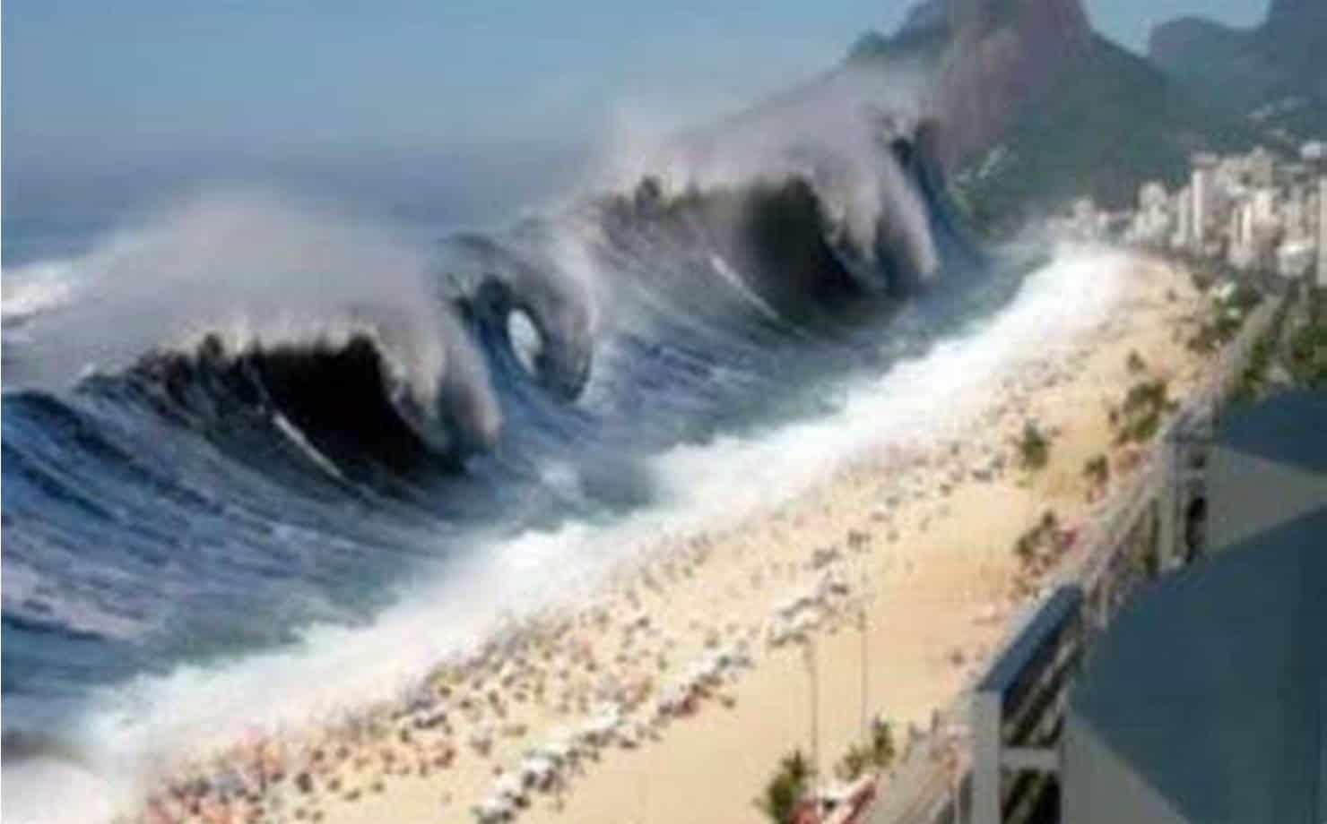 Ilustração de Tsunami