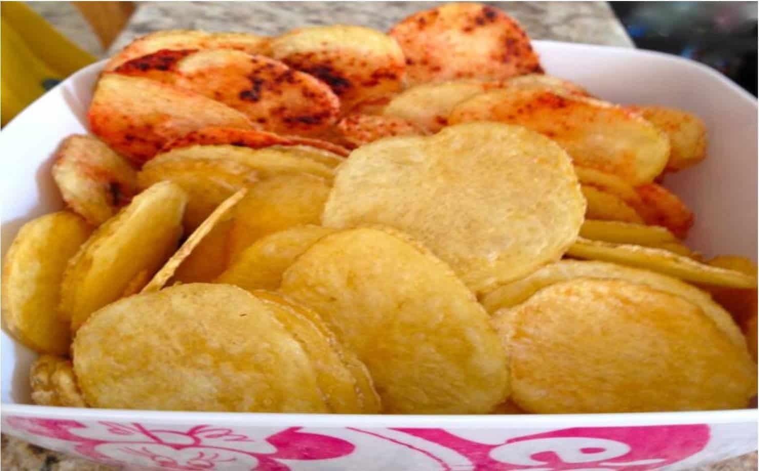 Batatas em uma Vasilha