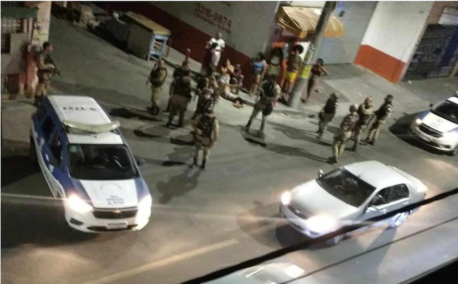 """18 pessoas são baleadas durante festa de """"paredão"""" em Salvador"""