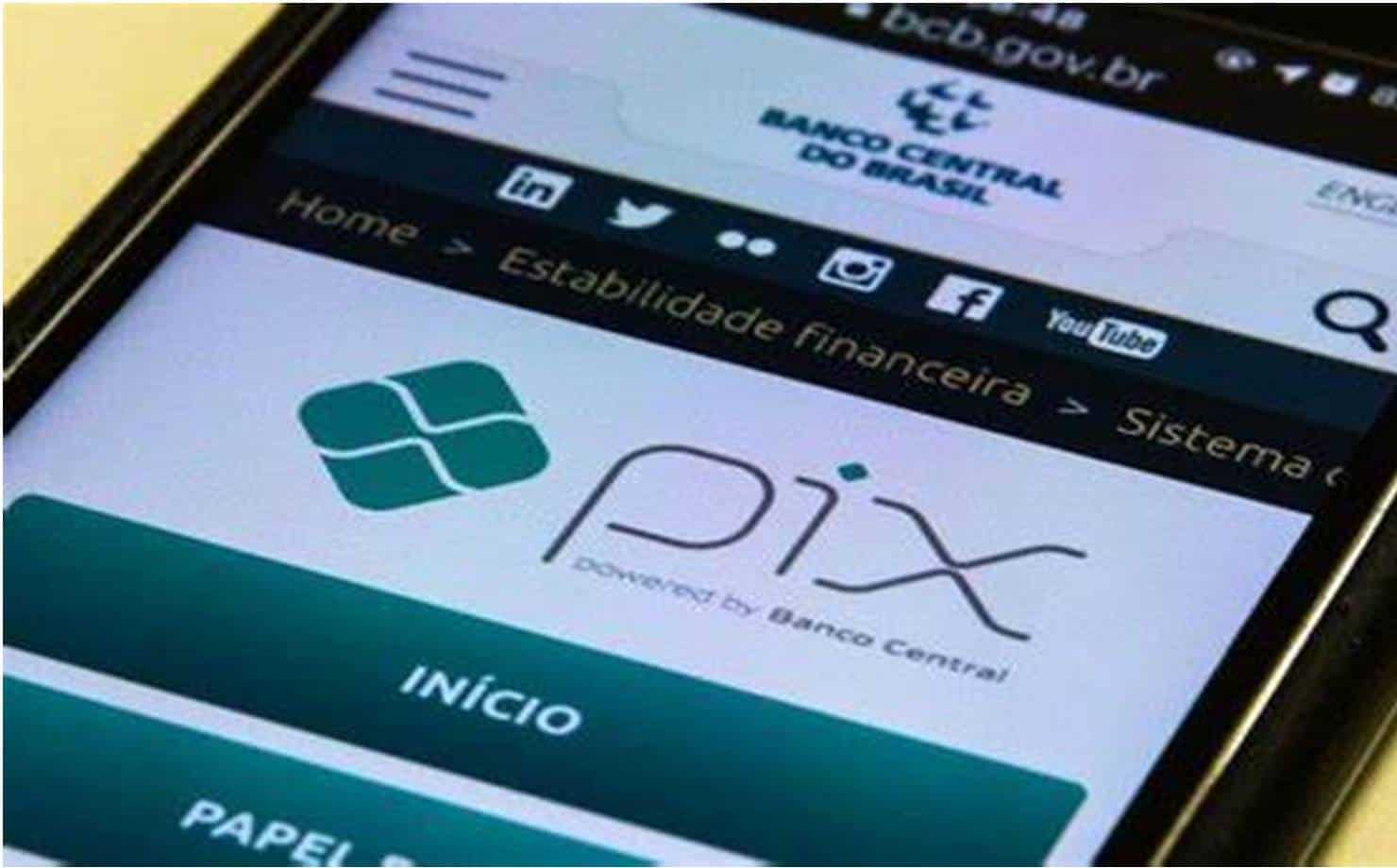 Operações do PIX terão limite de R$ 1 mil no período da noite a partir de hoje
